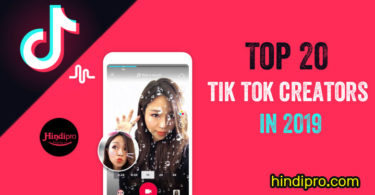 Top 20 tik tok creators in 2019