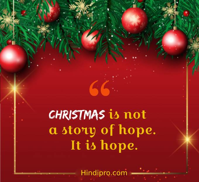 75 Best Merry christmas quotes • Hindipro
